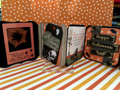 Halloween Accordian Card: Inside Front