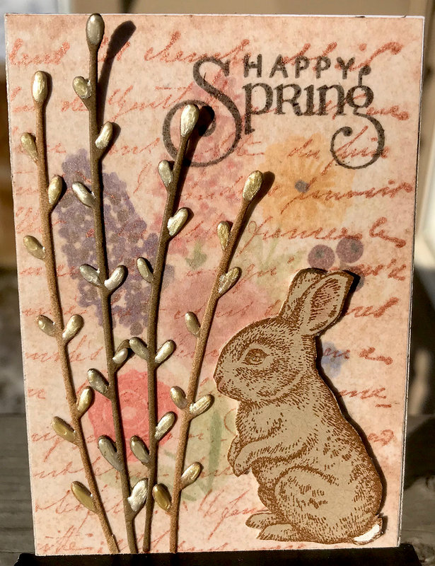 ATC: Bunny Willows