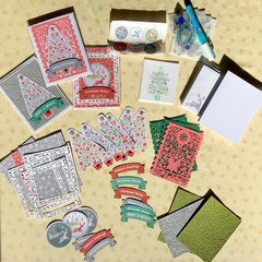 Quick & Easy Christmas Card Kit