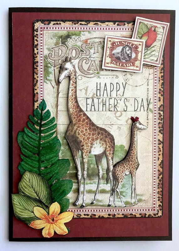 Safari Father's Day Card