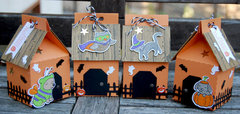 Haunted House Pet Treat Boxes