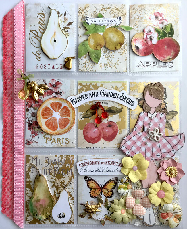 May 2019 Pocket Letter for Kristine: Favourite Paper