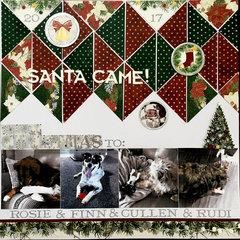 Santa Came!