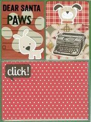 December Journal: Letters to Santa (front)