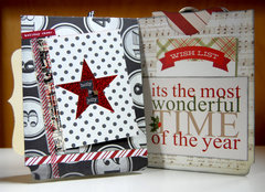 Holiday File Folder Book - front pages