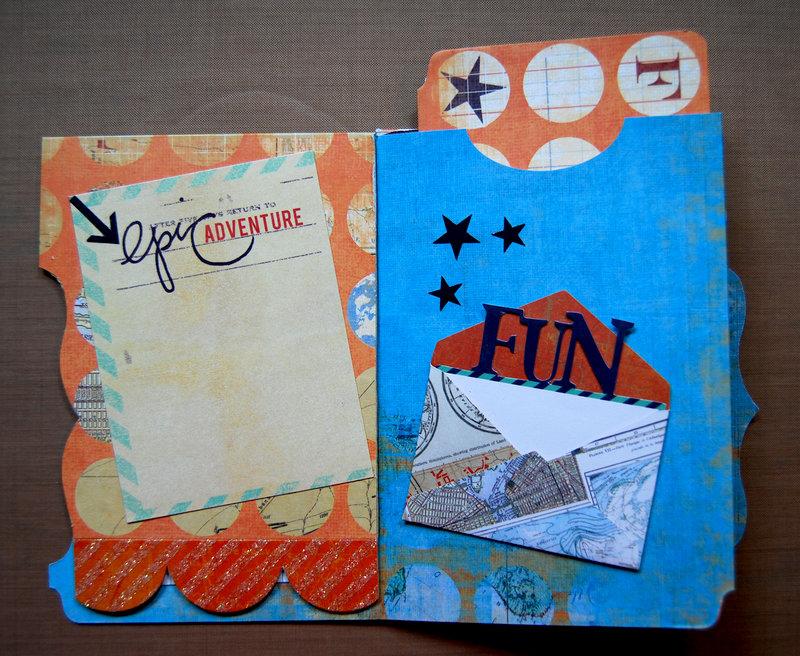 File Folder Mini Book - Pages 3 & 4 + Pocket Folder