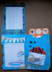 File Filder Mini Book - Pages 1 & 2