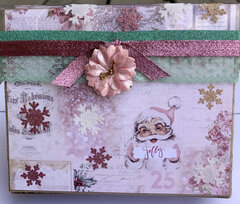 Santa Baby Stationery Box for Christmas in July 2019