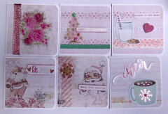 Santa Baby 3X3 Cards