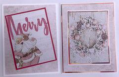 Santa Baby A4 Cards (portrait)