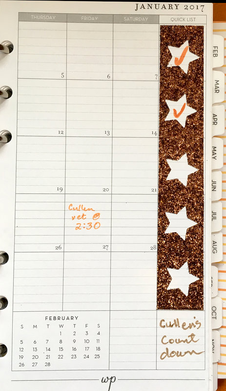 """Personalized Planners, Lesson 9: Punched Tape """"Tracker"""""""