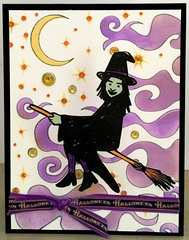Witchy Hallween Card