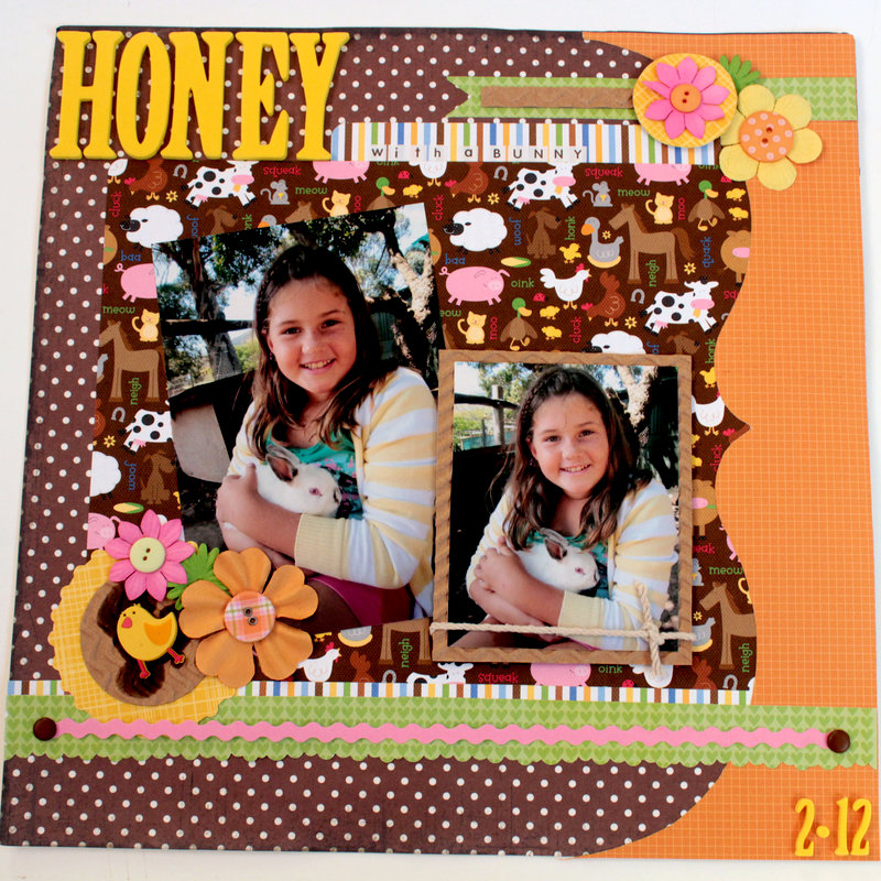 'HONEY WITH A BUNNY