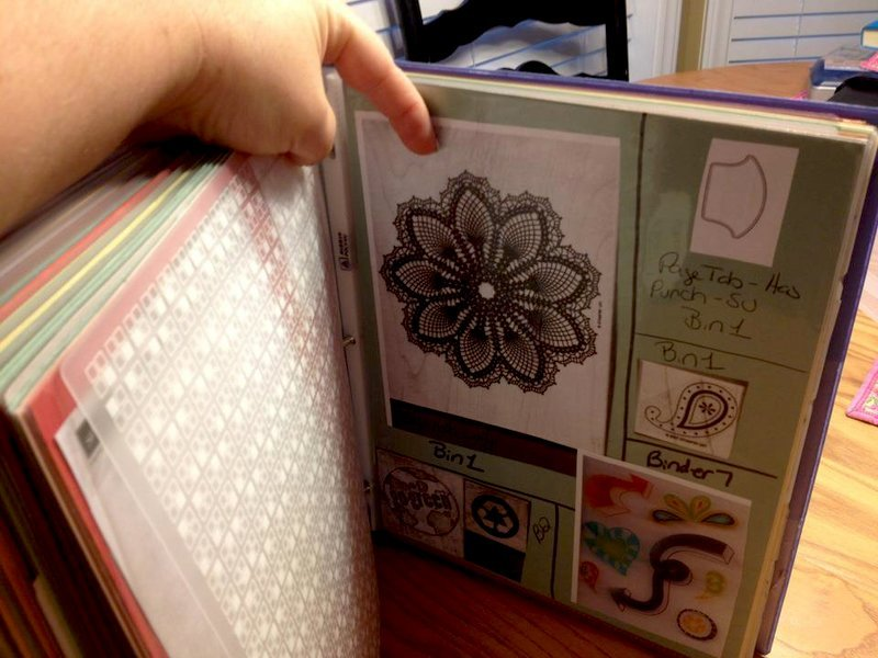 Stamp Binder and Organization
