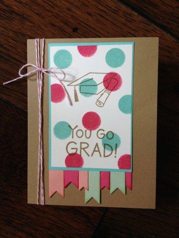 Graduation Challenge Card