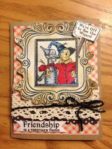 Friendship is a Together Thing card