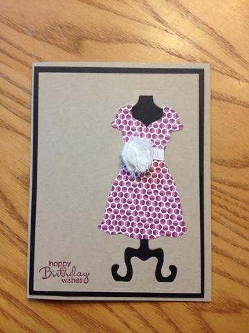 All Dressed Up Happy Birthday Card
