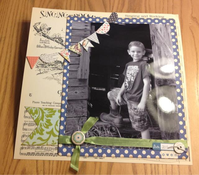 8X10 picture Layout
