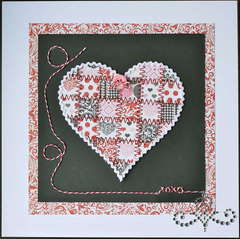 ~~Scraputante~~Paper Quilt--Valentine Heart