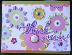 Spring Thank You Card