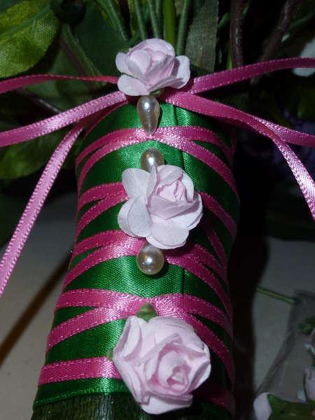 Sock flower bouquet - the details!