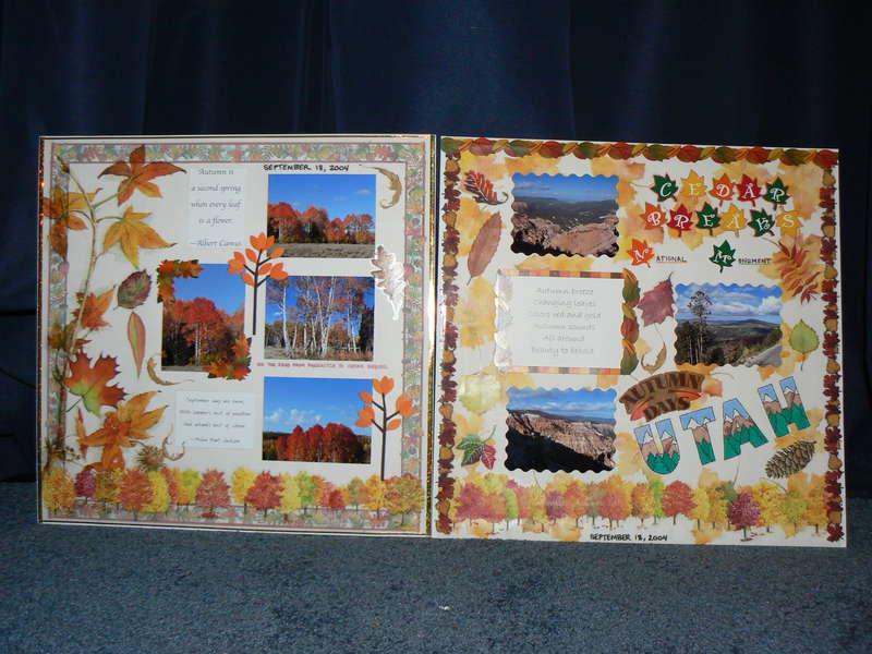 Autumn Leaves near Cedar Breaks