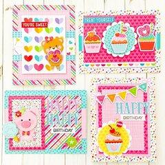 Bella Blvd Candy Girl Cards