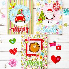 Bella Blvd Santa Squad Cards and Tags