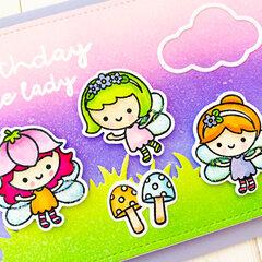 Fairy Garden Card