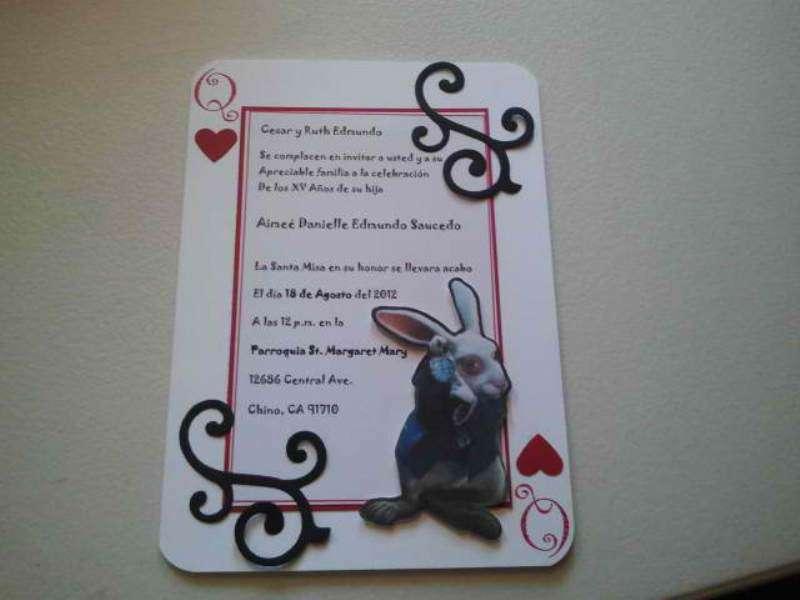 White Rabbit Inviation