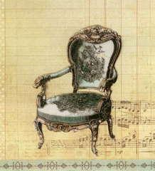 La Blanche Antique Chair