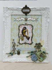 LaBlanche Framed Chickadee