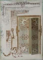 LaBlanche Wrought Iron Door