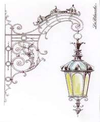 LaBlanche Hanging Street Lamp