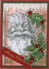 New LaBlanche - Santa with Holly