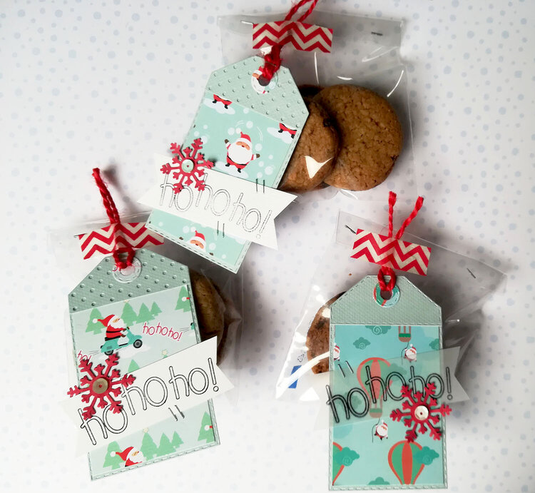 Christmas gift tags for homemade cookies
