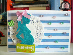 """""""Mommy to be"""" card"""