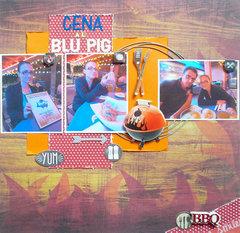 Cena al Blu Pig