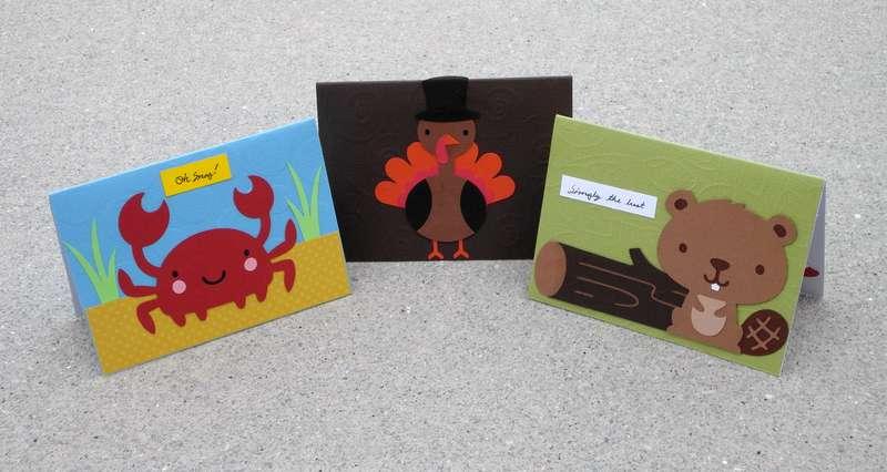 Critter Cards (set 2)