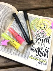 Bible Journaling with Pitt Artist Pens & Gelatos