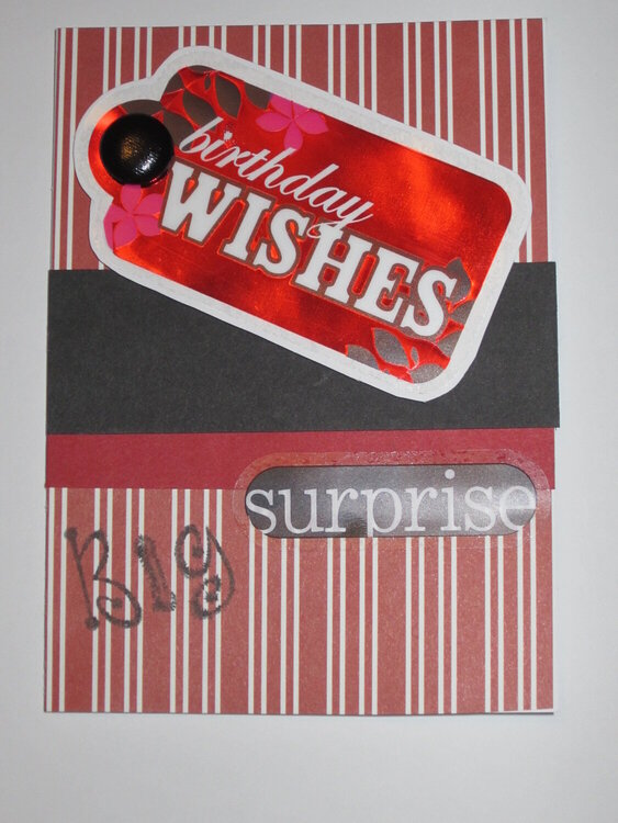 Birthday Wishes... Big Surprise