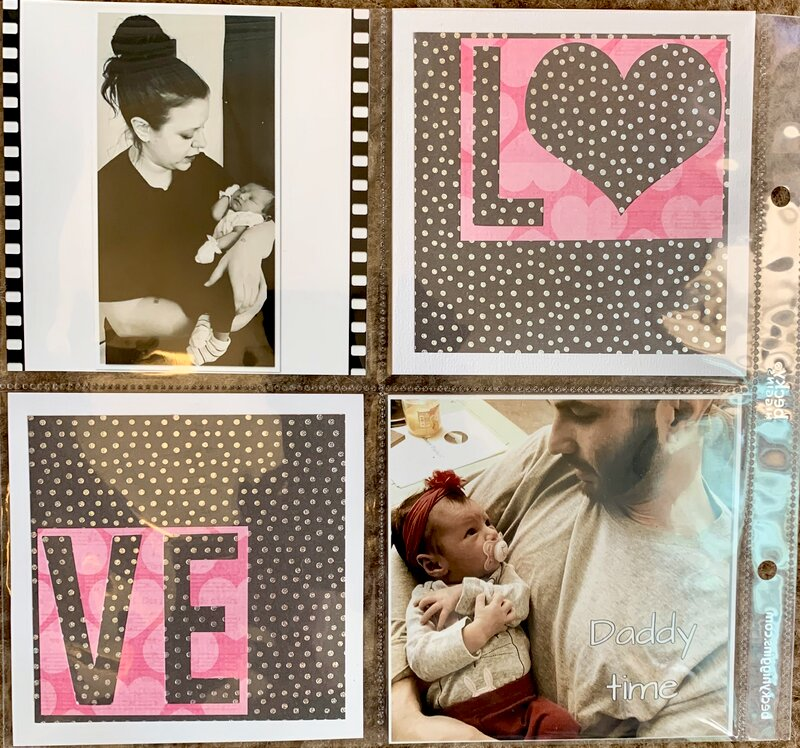 Love pocket page