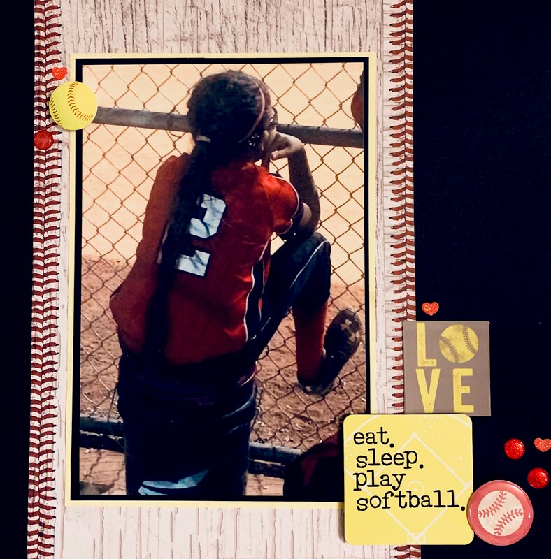 Eat, sleep, play softball