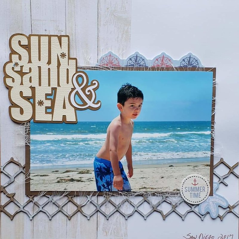 Sun, Sand, and Sea