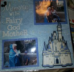 Disney World Magic Kingdom Fairy Godmother