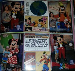 Disney World Epcot Autographs