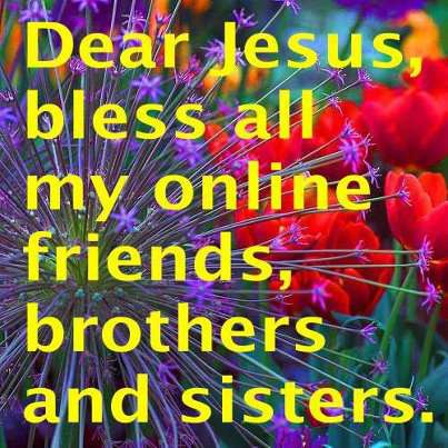 For All My Online Friends