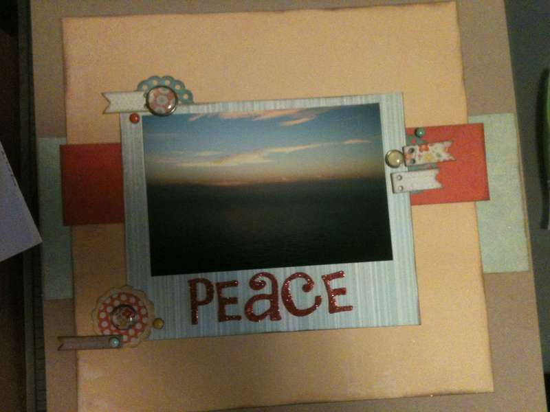 "Peace ""Inspired by A Sweethaven Homecoming"""