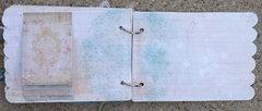 Beach mini album pages 6 & 7