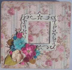 Altered cigar box for Martica's swap